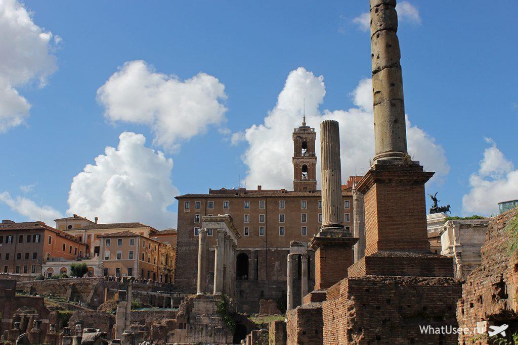 Храмы в Римском Форуме