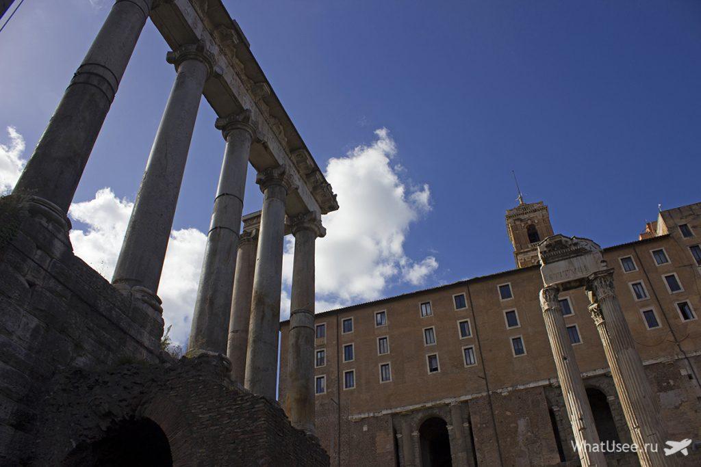 Храмы Римского Форума