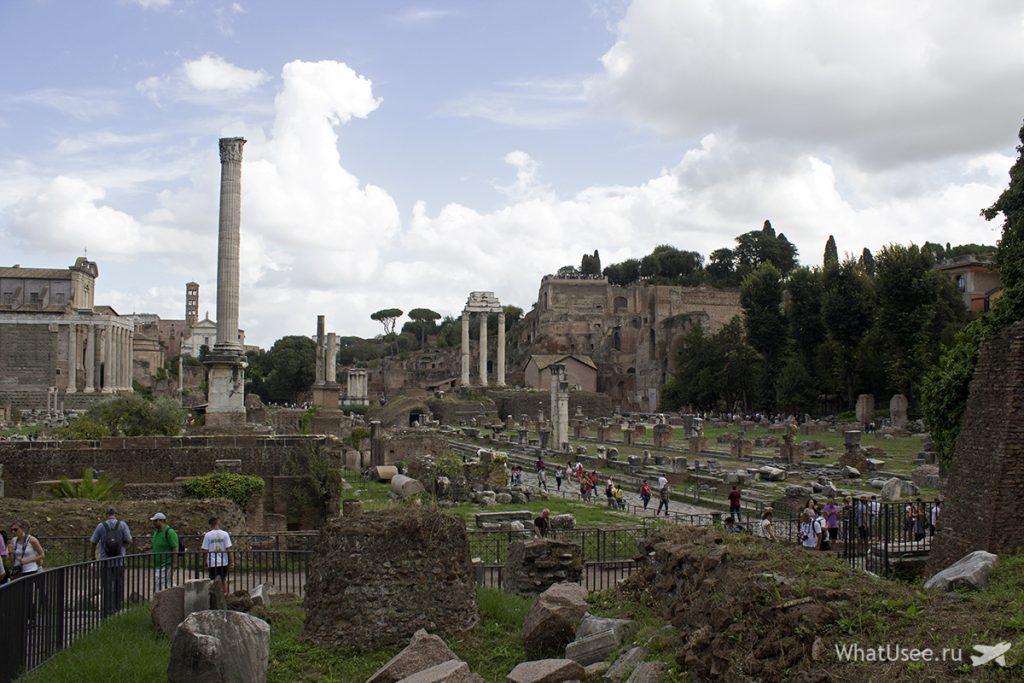 Посещение Римского Форума