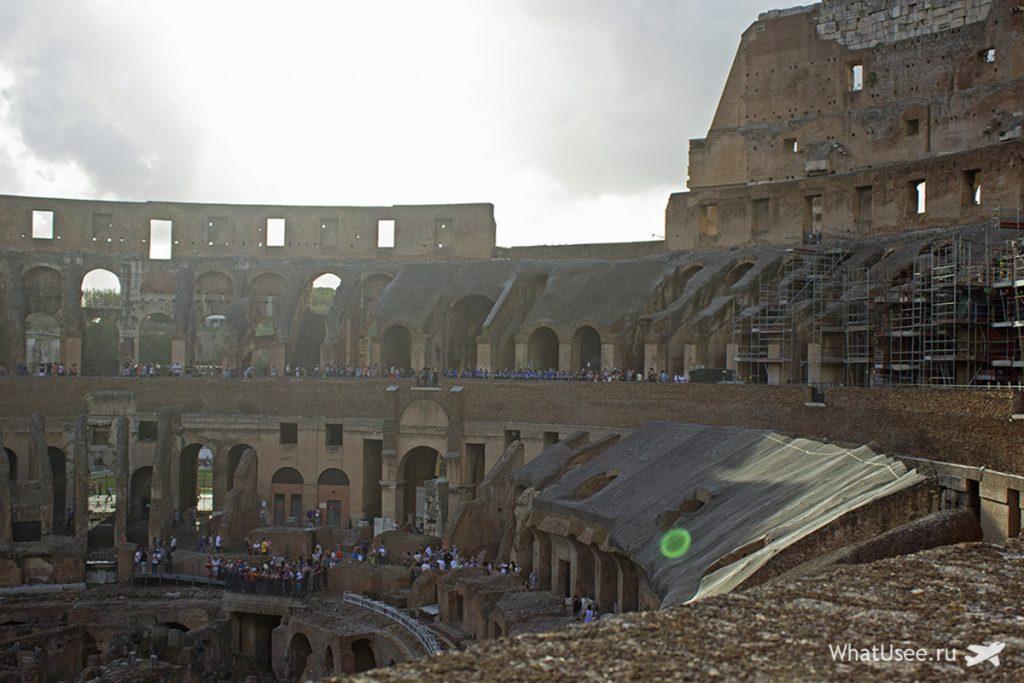 Колизей в Риме и его история