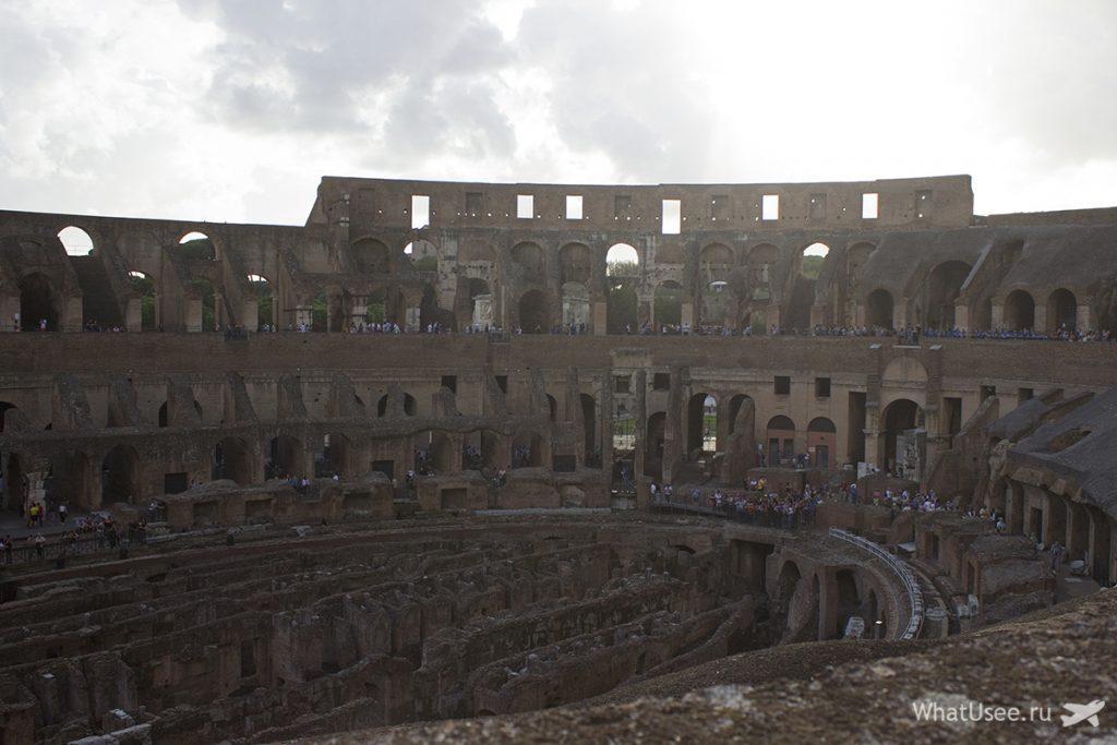 Римский Колизей и его история