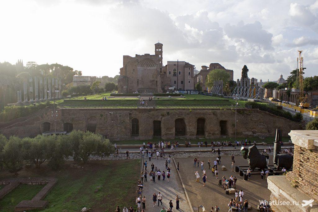 В Колизее в Риме