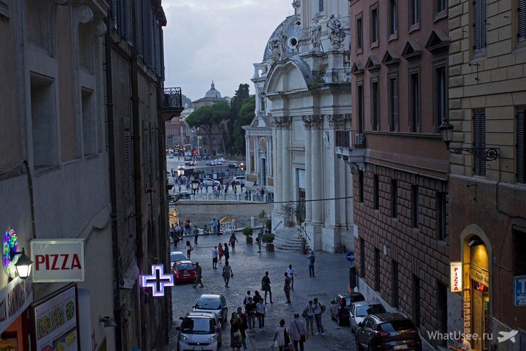 Вечером в Риме