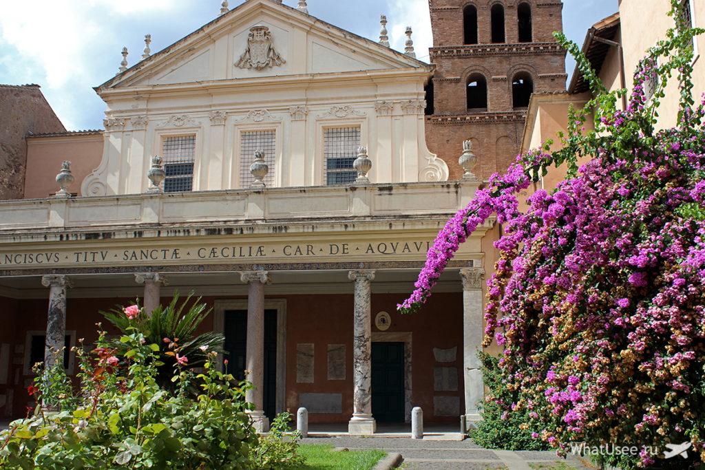 Церковь Санта Чечилия в Трастевере