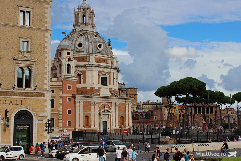 Церковь Санта Мария ди Лорето в Риме