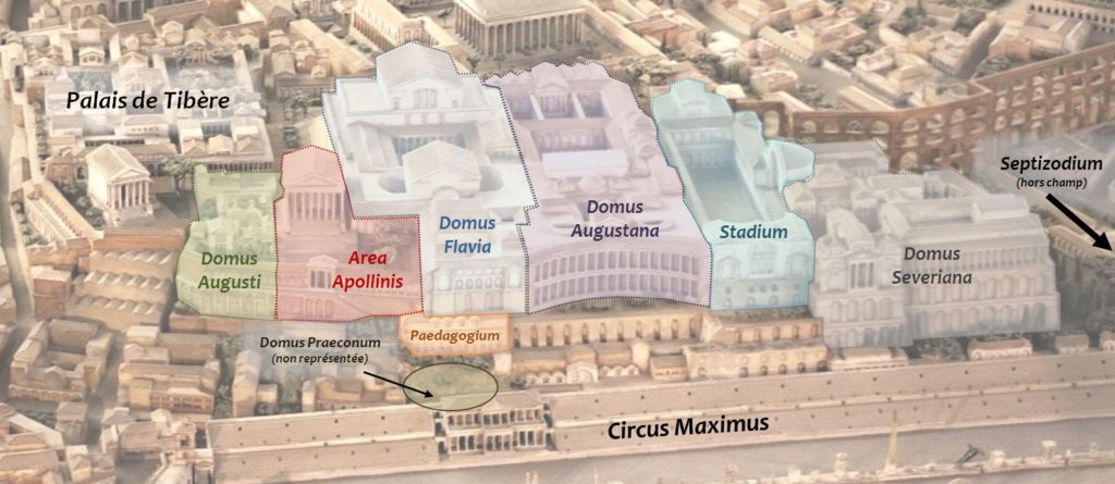 Палатин во время Римской империи