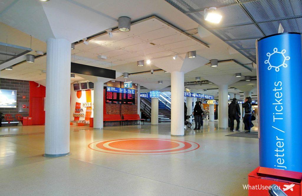 Регистрация на паром в Западном терминале Хельсинки
