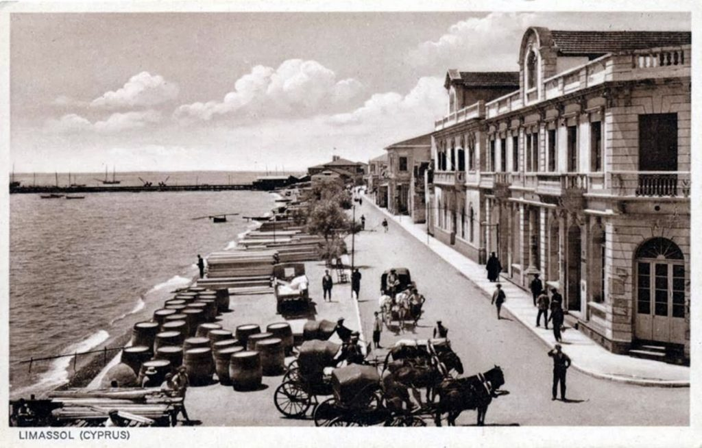 История в фото, Старый порт в Лимассоле