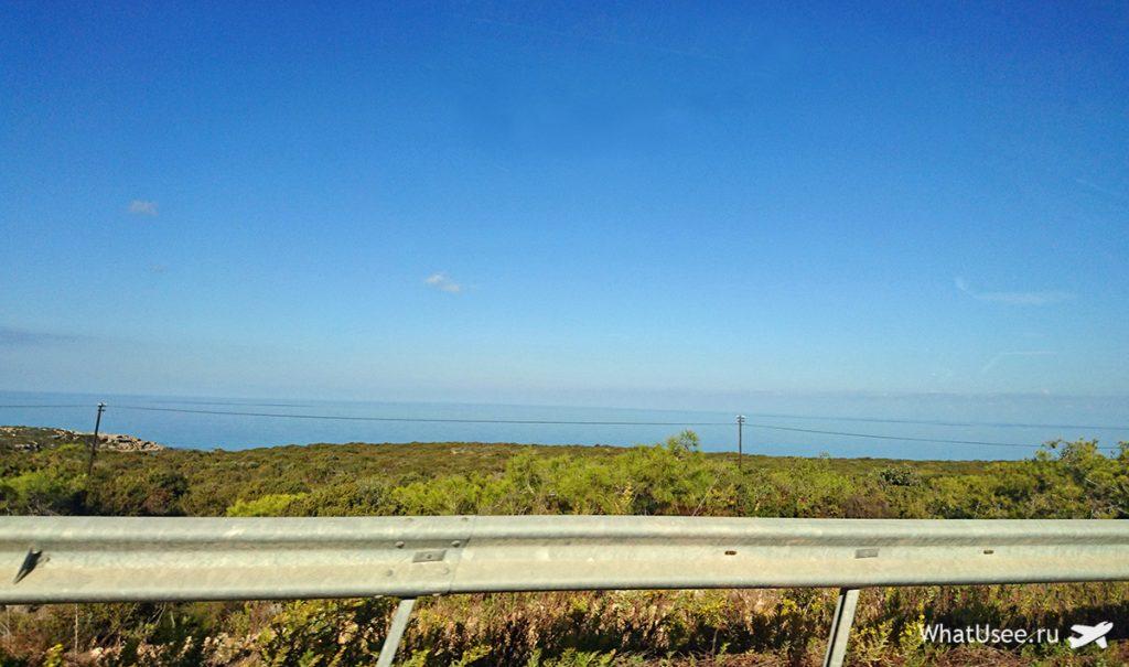 Дорога на полуостров Карпас, Северный Кипр