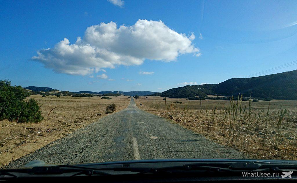 Маршрут на полуостров Карпас на Северном Кипре