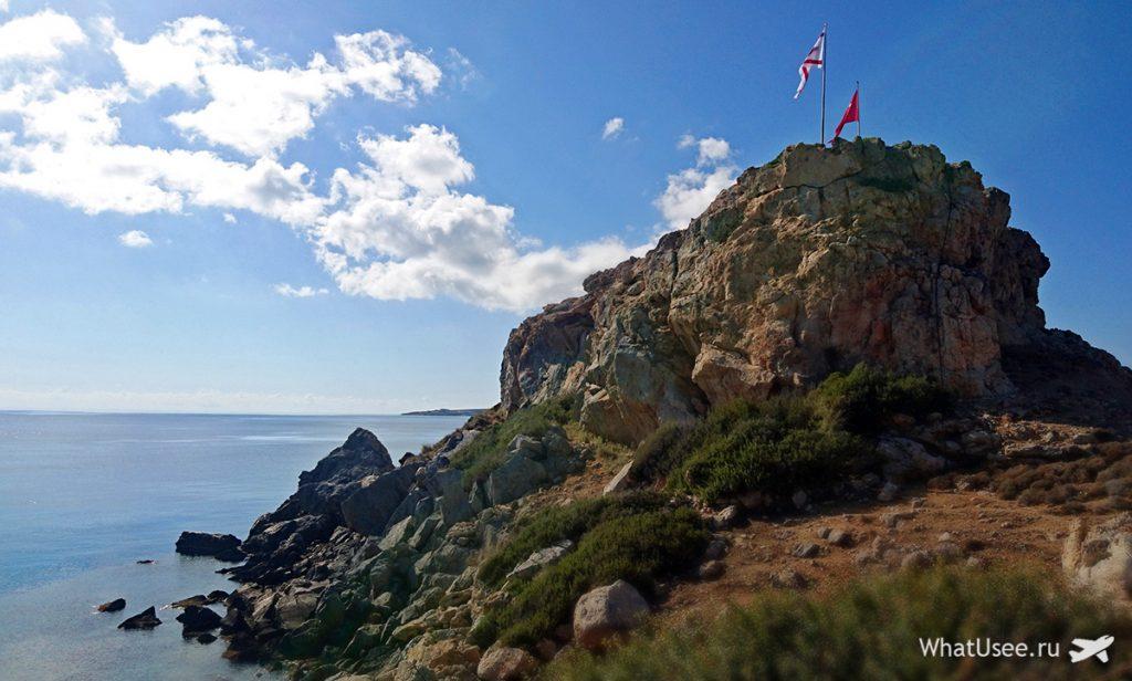 Северный Кипр, мыс на полуострове Карпас