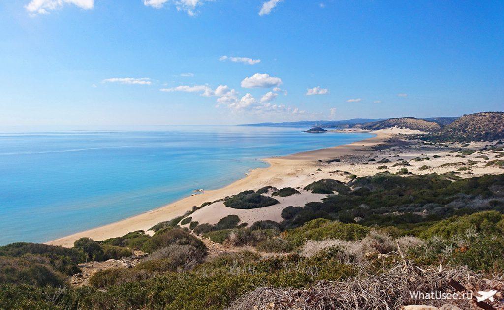 Золотой пляж на Северном Кипре