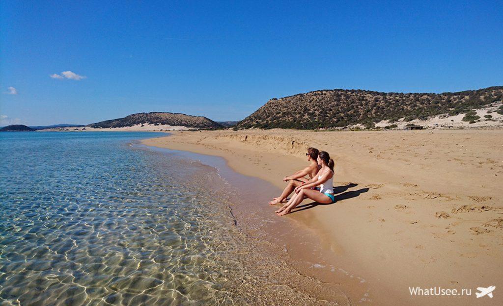 Золотой пляж на Карпасе, Северный Кипр