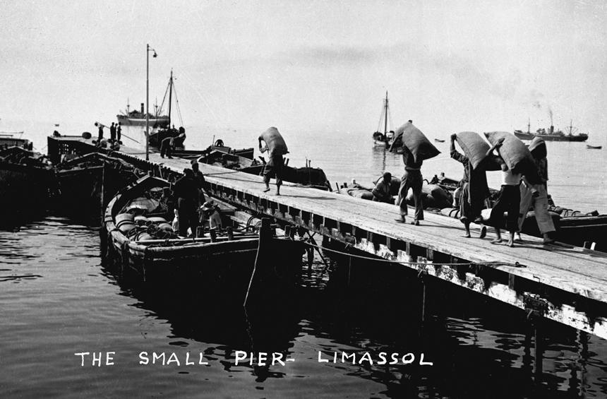 Исторические фотографии Лимассола