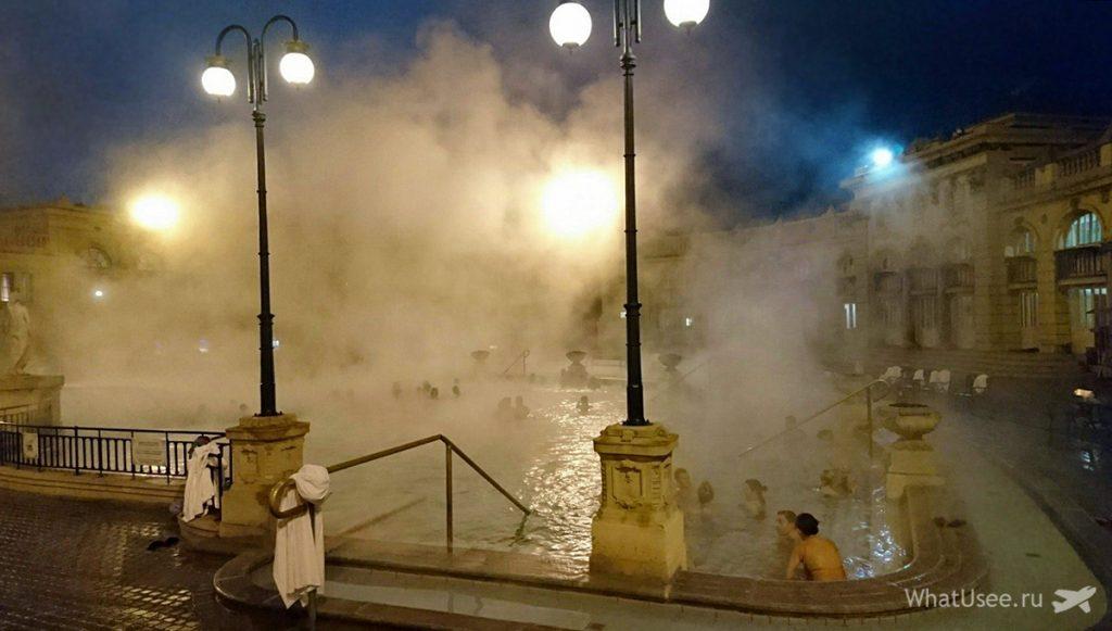Фото купален Сечени зимой