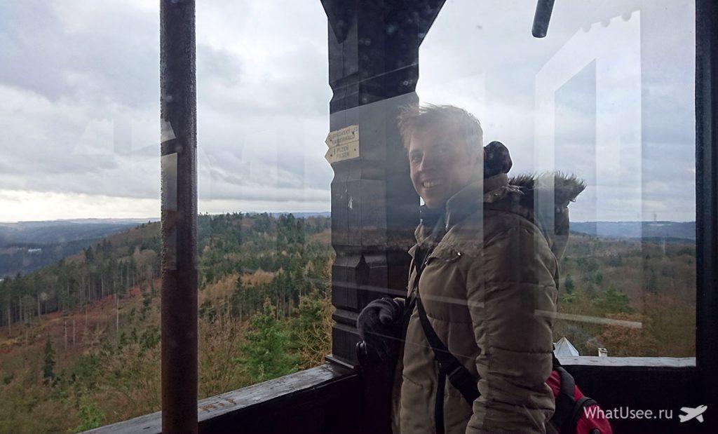 Смотровая башня Диана в Карловых Варах