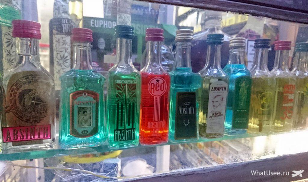 Алкоголь в Праге