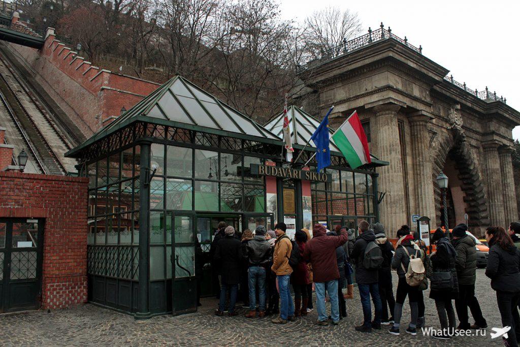 Фуникулёр в Будапеште