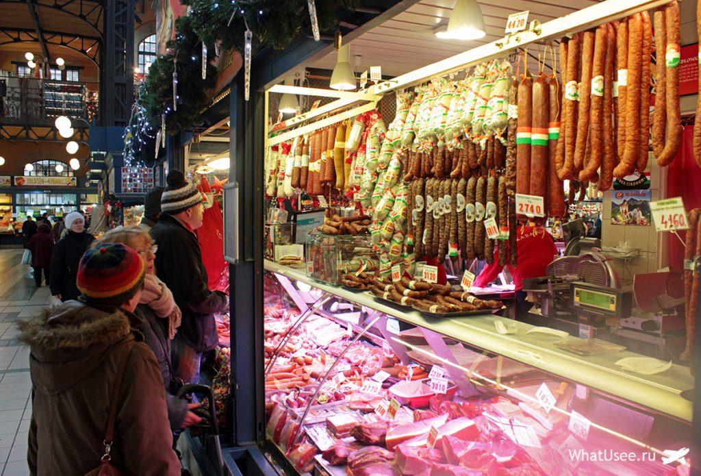 Крытый рынок Будапешта