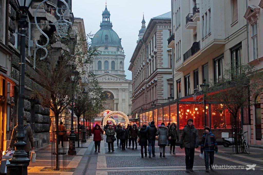 Поездка в Будапешт на Рождество