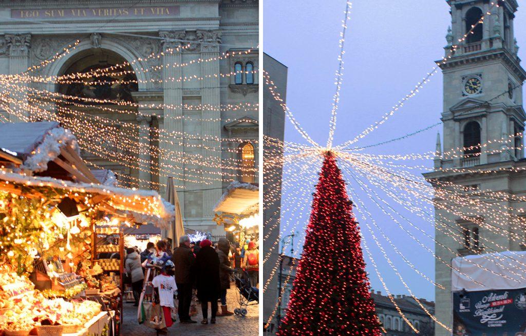 Ярмарки в Будапеште на Рождество
