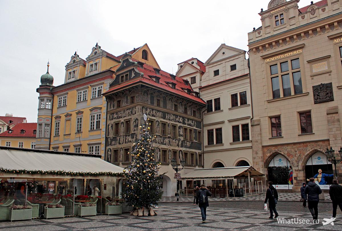 Обзорная экскурсия в Праге зимой