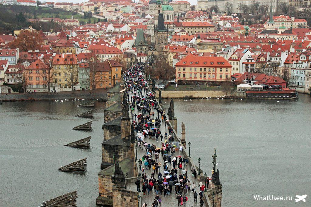 Подъём на Староместскую мостовую башню