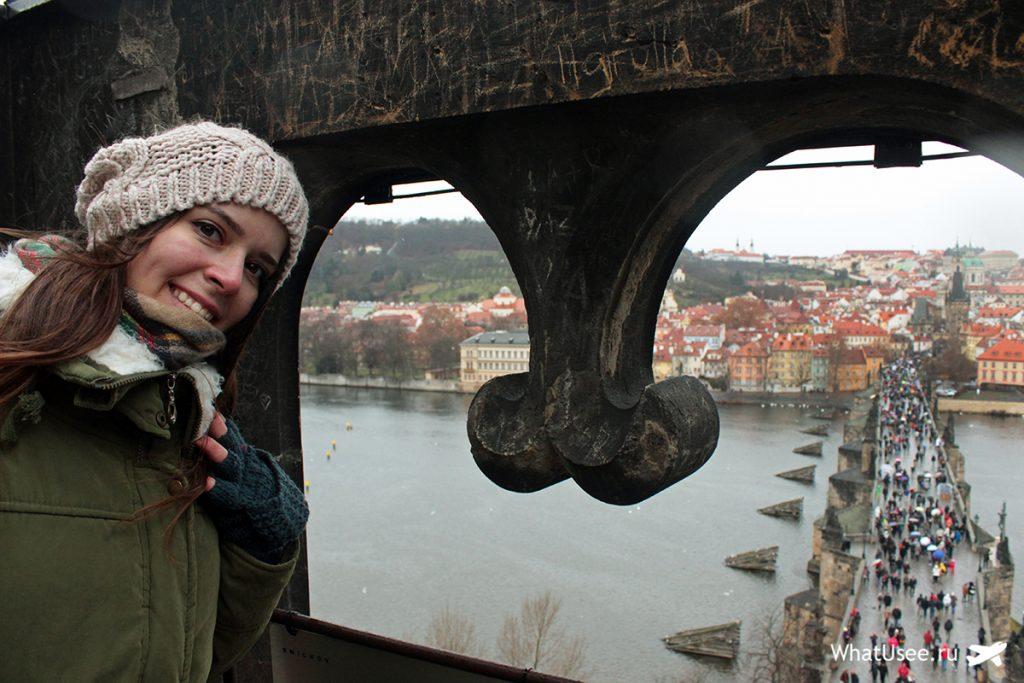 Подъём на Староместскую мостовую башню в Праге