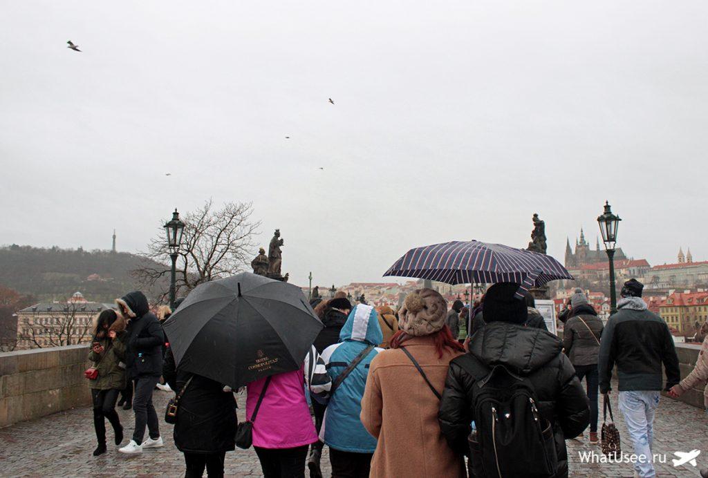Карлов мост в Праге фото