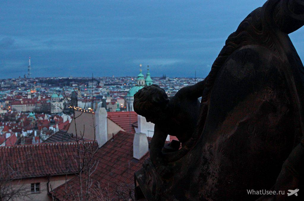Прогулка по Пражскому Граду
