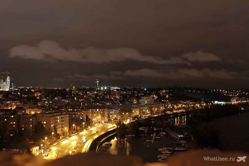 Смотровая площадка в Вышеграде в Праге