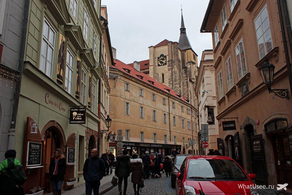 Еврейский квартал-гетто в Праге