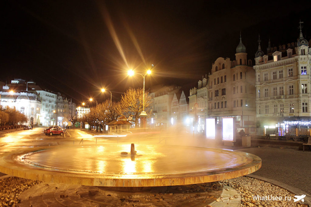 Термальная вода в Карловых Варах