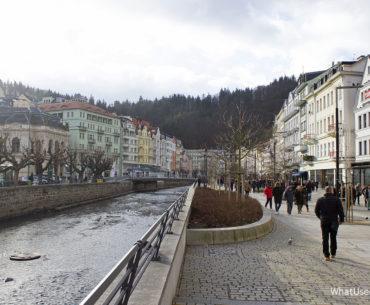 Чехия: Карловы Вары зимой
