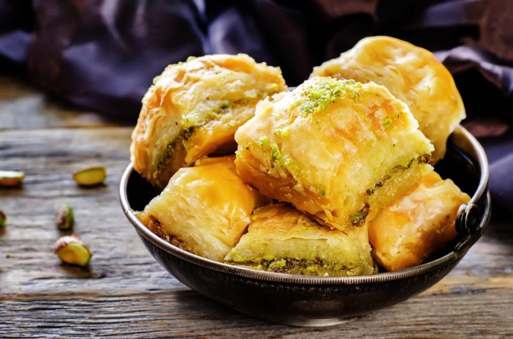 Кипрские сладости и что нужно попробовать