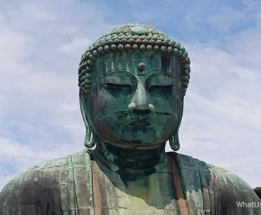 Будда из Камакуры в Японии