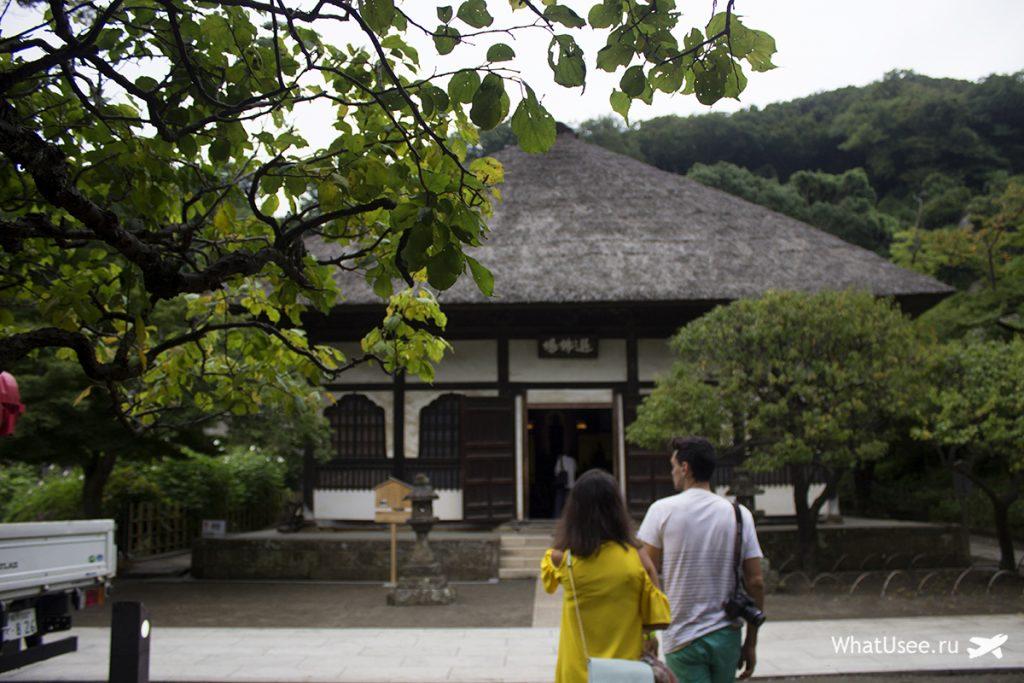 Храм Энгакудзи в Камакуре