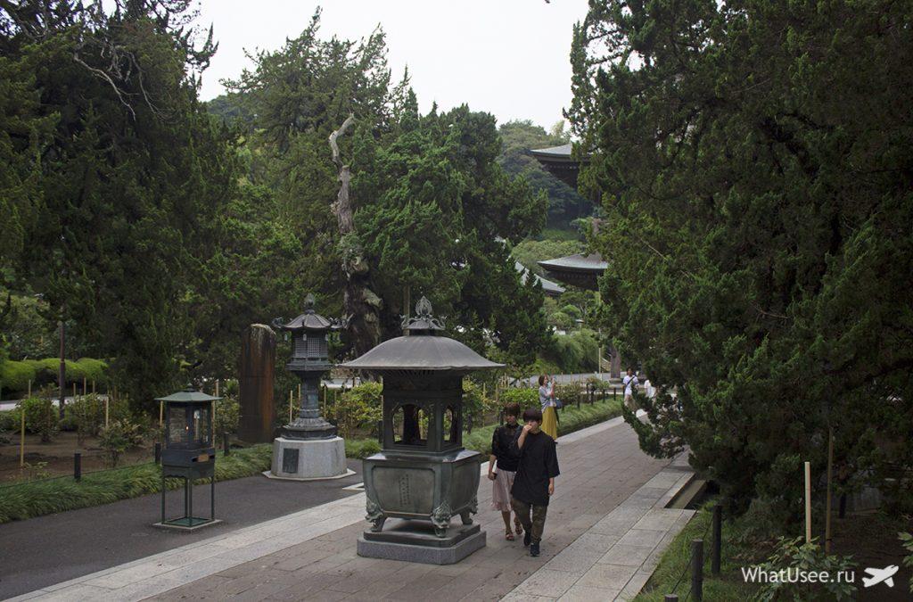Храм Кэнтё-дзи в Японии