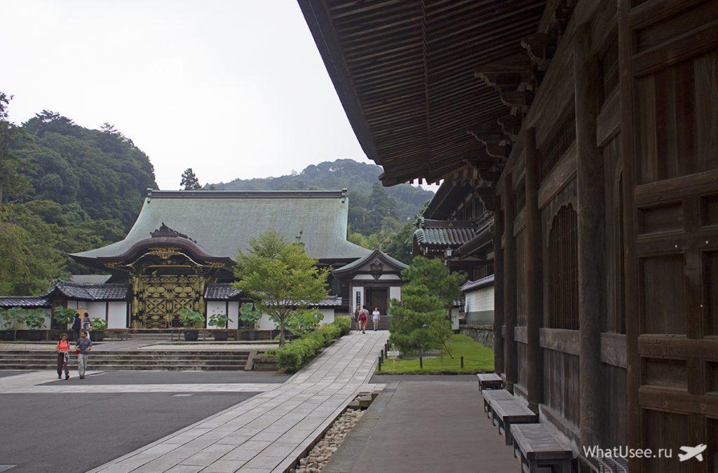 Постройки храма Кэнтё-дзи