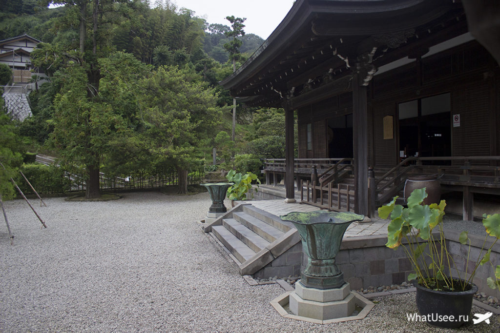 Постройки храма Кэнтё-дзи в Камакуре