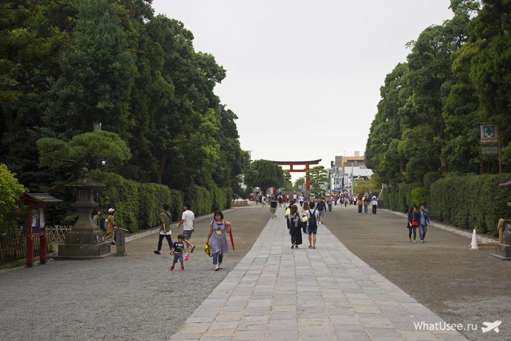 Святилище Цуругаока-Хатимангу в Камакуре