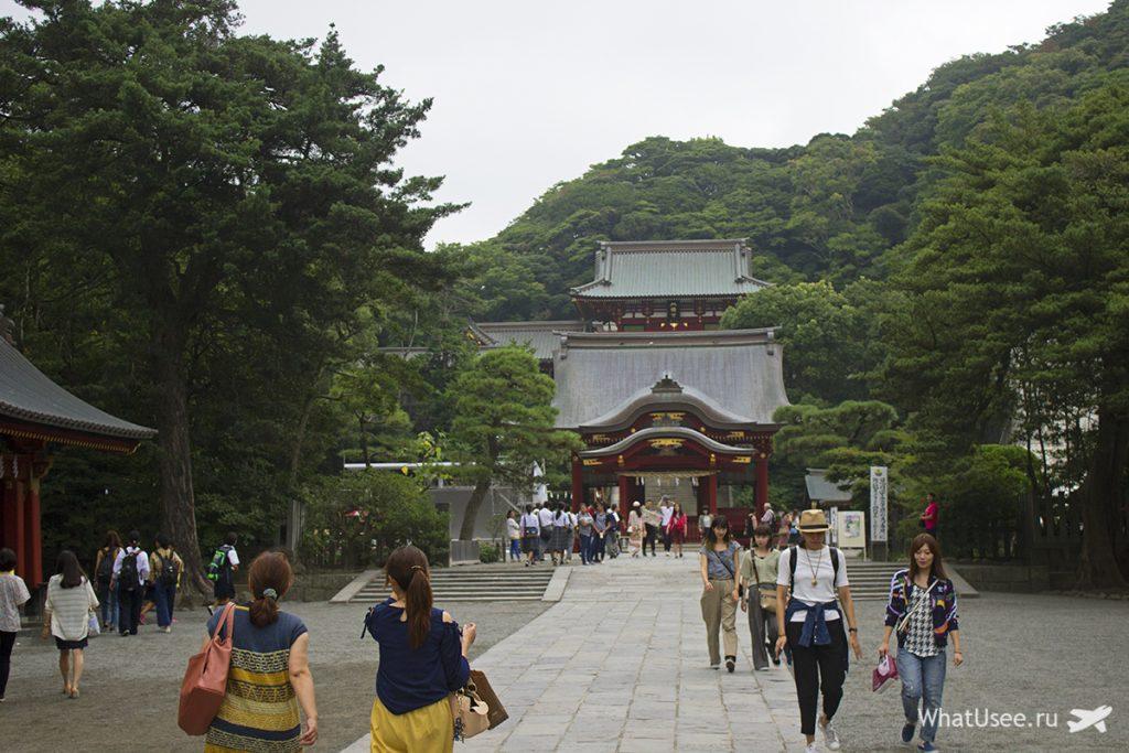 Храм Цуругаока-Хатиман-гу