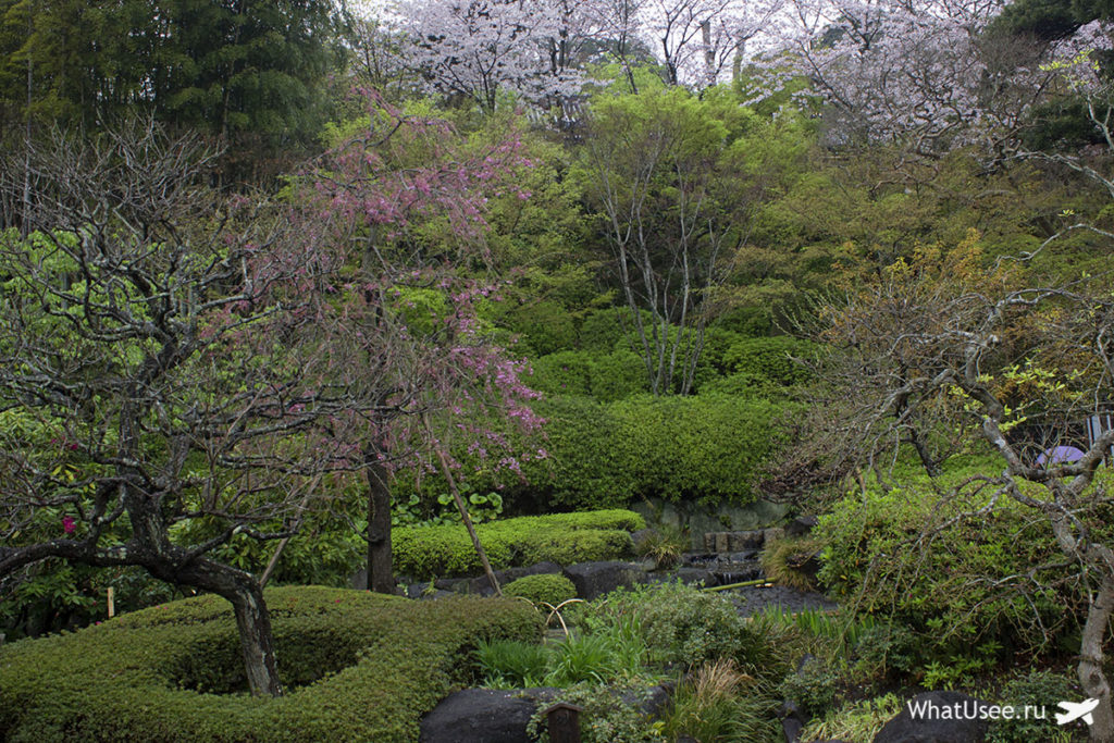 Японский сад в Камакуре