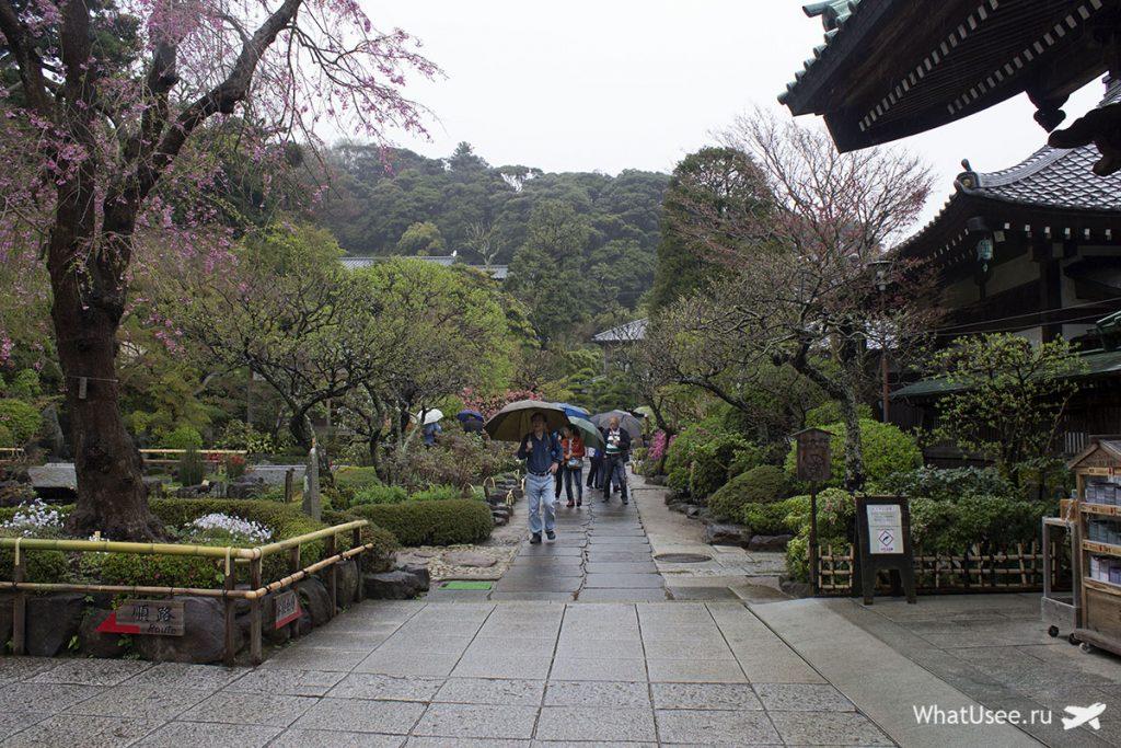 Посещение Камакуры из Токио