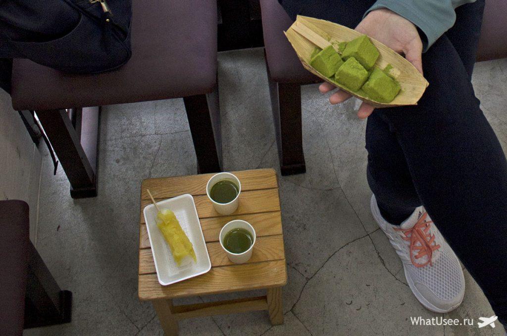 Японские сладости в Камакуре