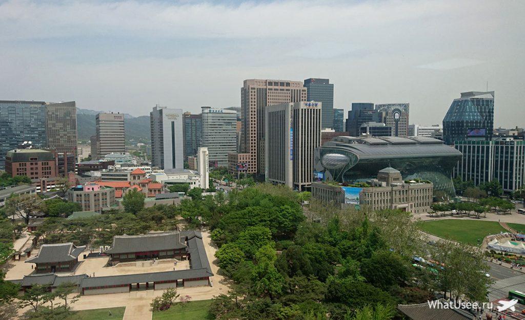 В Сеуле на три дня