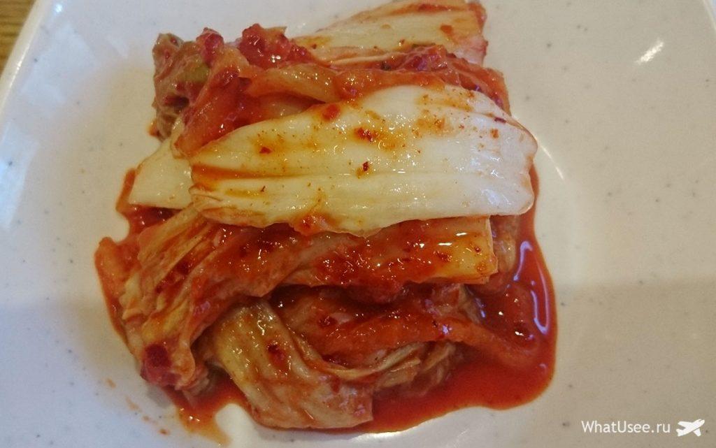 Традиционная корейская еда