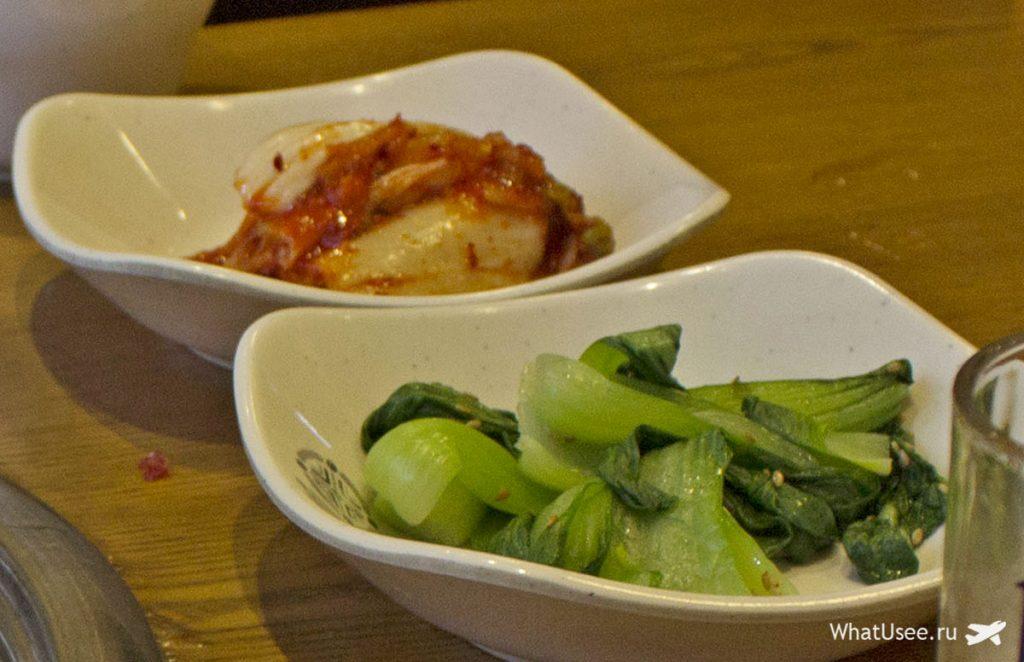 Традиционная корейская кухня в Сеуле