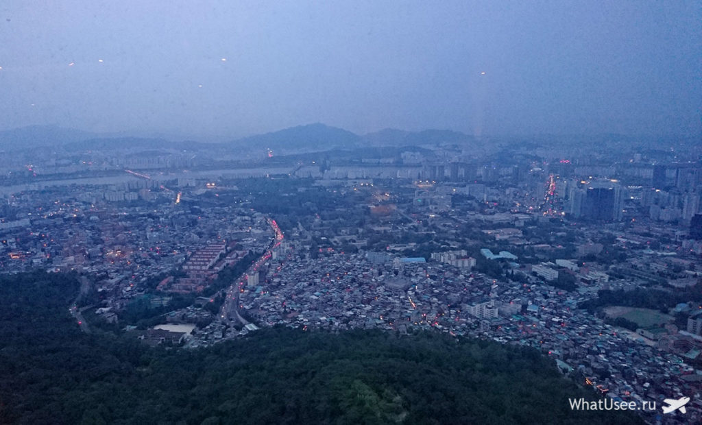 Сеульская башня на Намсане