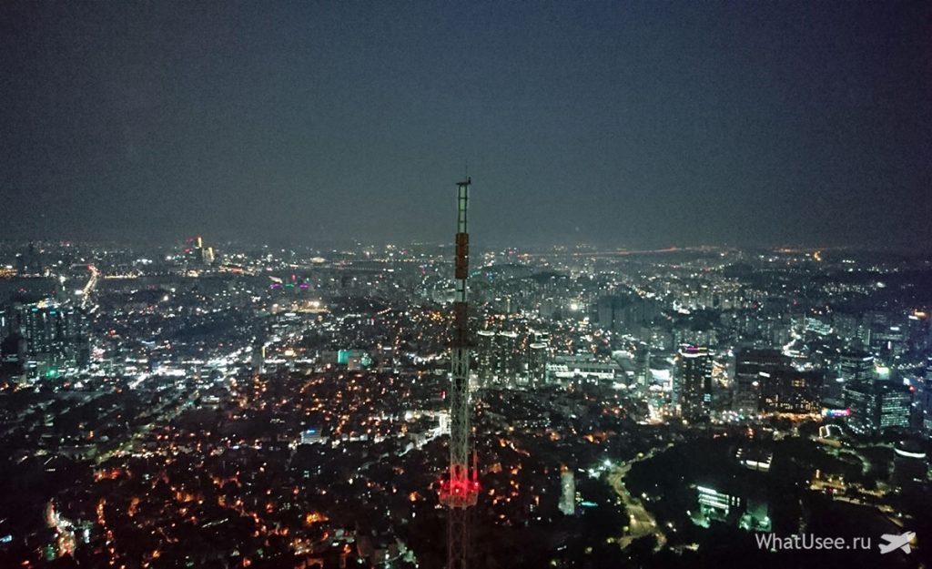 Башня Намсан в Сеуле